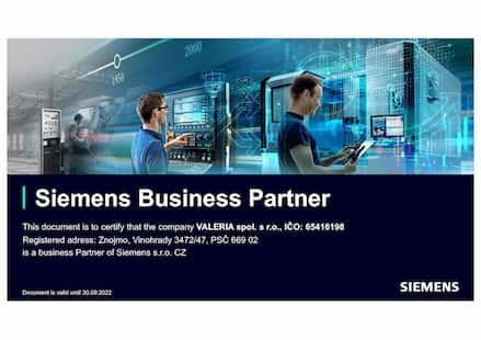 Siemens Certified Partner